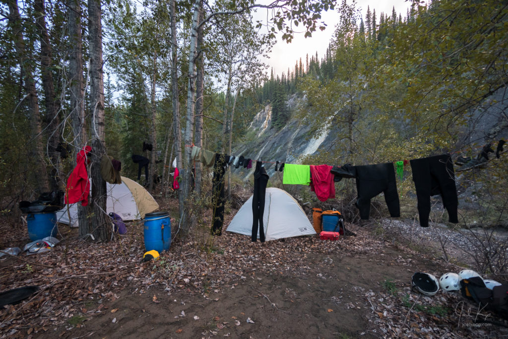 Second Camp on the Brazeau