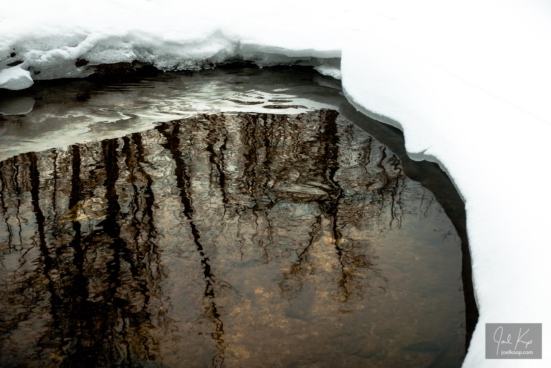 Winter Reflecting Pool